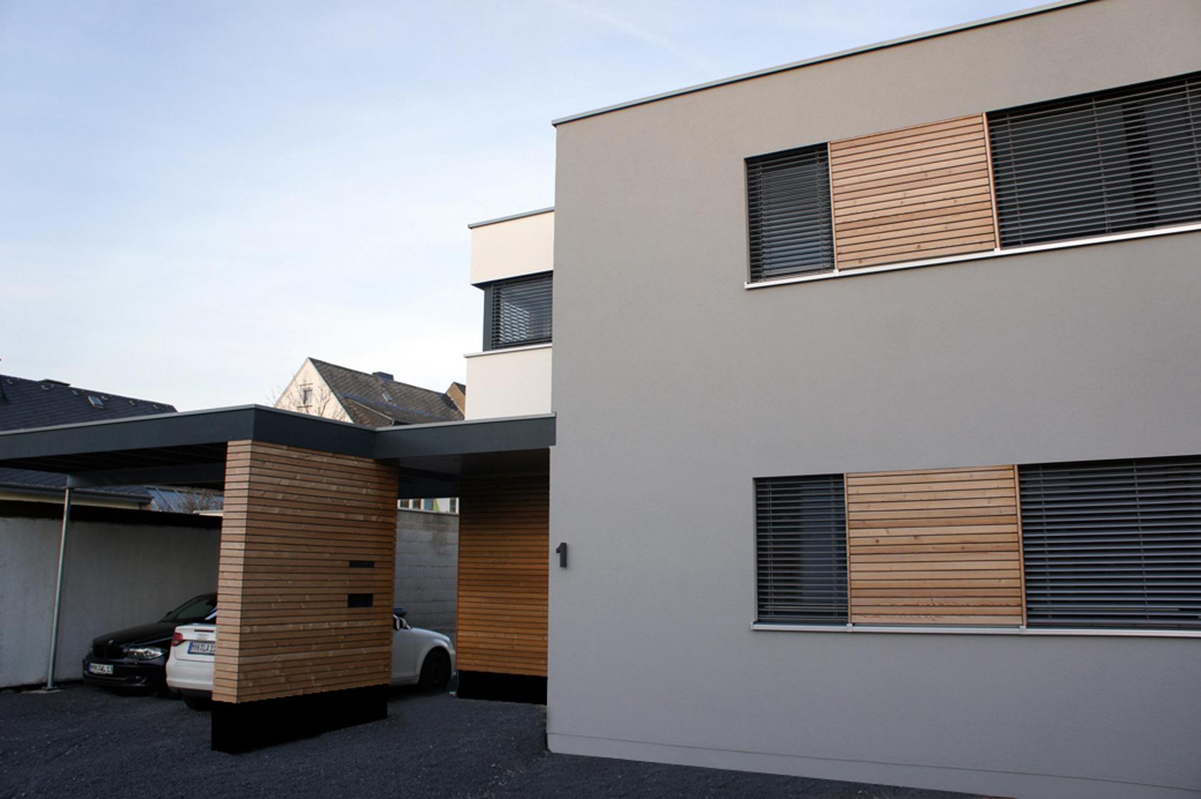 anbau einfamilienholzhaus modern umgesetzt der holzbau. Black Bedroom Furniture Sets. Home Design Ideas